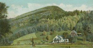 1906 postcard Mount Agassiz, Bethlehem