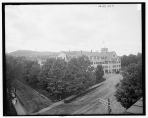 The Sinclair Hotel Courtesy of the Library of Congress
