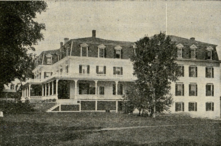 The Howard House was sold by Cyrus Bunker in 1887 to F. E. Derbyshire. Courtesy of the Bethlehem Heritage Society.